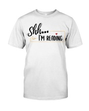 Shhh Reading Classic T-Shirt tile