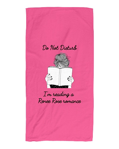 Do not disturb beach towel