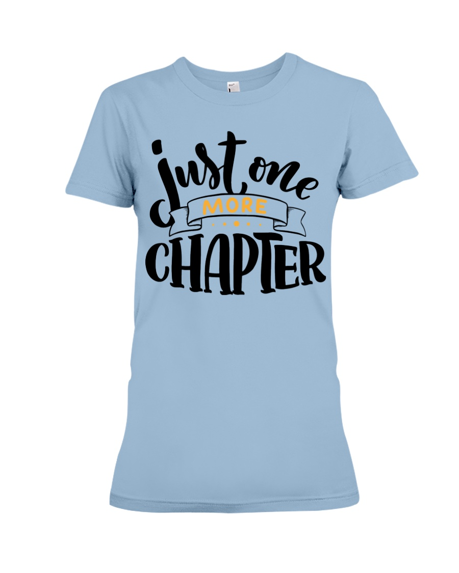 One More Chapter Premium Fit Ladies Tee