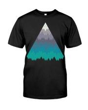Many Mountains Goat Shirt Farmer Shirt Classic T-Shirt front