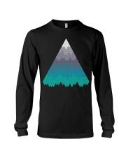 Many Mountains Goat Shirt Farmer Shirt Long Sleeve Tee thumbnail