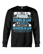 Im A Proud Father In Law Freaking Awesome Daughter Crewneck Sweatshirt thumbnail
