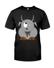 Maniac Goat Gift Idea Goat Shirt Farmer Shirt Classic T-Shirt front