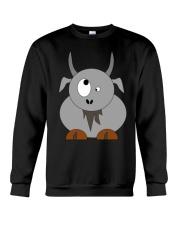 Maniac Goat Gift Idea Goat Shirt Farmer Shirt Crewneck Sweatshirt thumbnail