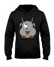 Maniac Goat Gift Idea Goat Shirt Farmer Shirt Hooded Sweatshirt thumbnail