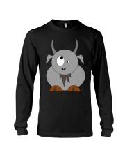 Maniac Goat Gift Idea Goat Shirt Farmer Shirt Long Sleeve Tee thumbnail