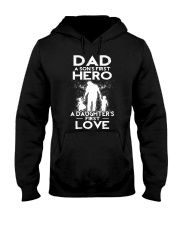 Dad A Sons First Hero A Daughters First Love ByStr Hooded Sweatshirt thumbnail