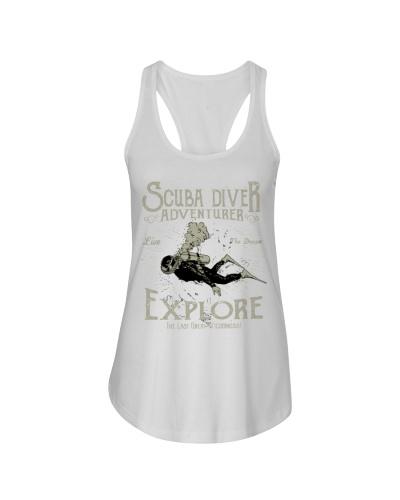 Scuba Diver Adventurer Tee