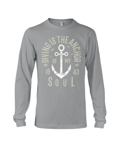 Diving is the Anchor of my Soul Commemorative Tee