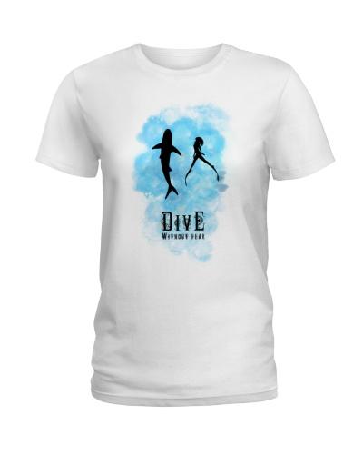 Dive Without Fear - Scuba Diver Tee