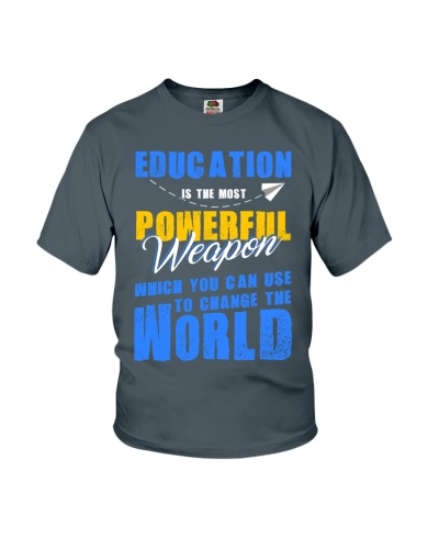 Education change to the world