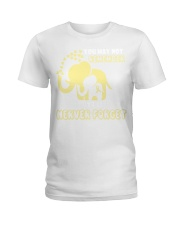 You May Not Remember Never Forget Spina Bifida Ladies T-Shirt thumbnail