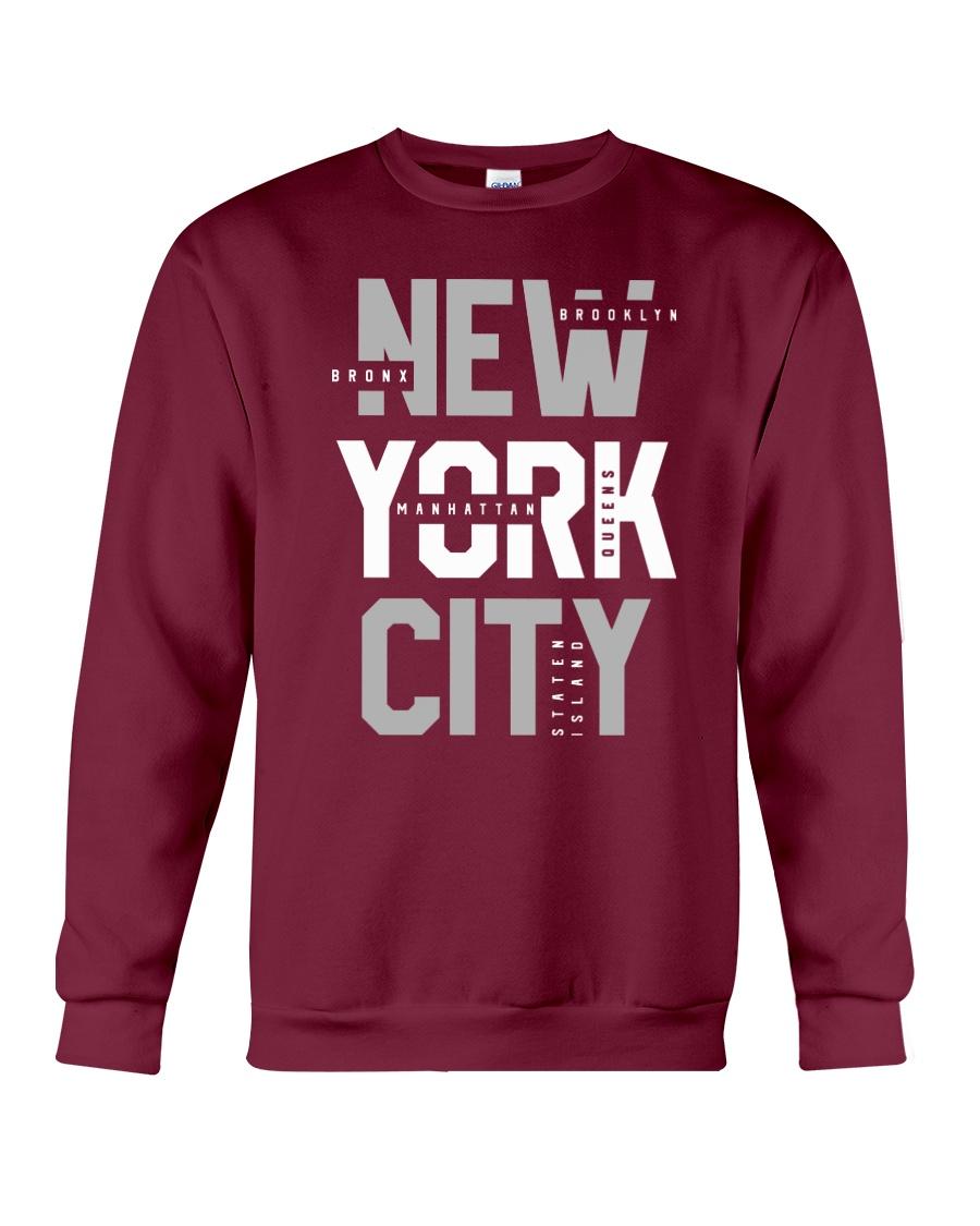 5 Boroughs of NYC Crewneck Sweatshirt