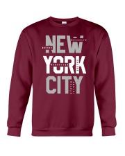 5 Boroughs of NYC Crewneck Sweatshirt front