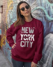 5 Boroughs of NYC Crewneck Sweatshirt lifestyle-unisex-sweatshirt-front-3
