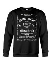 FOR METAL MUSIC LOVERS Crewneck Sweatshirt thumbnail