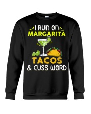 MARGARITA TACOS AND CUSS WORD Crewneck Sweatshirt thumbnail