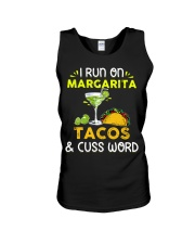 MARGARITA TACOS AND CUSS WORD Unisex Tank thumbnail