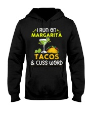 MARGARITA TACOS AND CUSS WORD Hooded Sweatshirt thumbnail