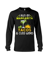 MARGARITA TACOS AND CUSS WORD Long Sleeve Tee thumbnail