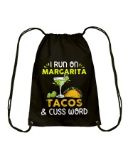 MARGARITA TACOS AND CUSS WORD Drawstring Bag thumbnail