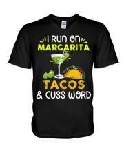 MARGARITA TACOS AND CUSS WORD V-Neck T-Shirt thumbnail