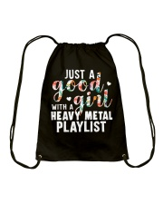 JUST A GOOD GIRL 1 Drawstring Bag thumbnail