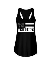 WHITE BOY Ladies Flowy Tank thumbnail