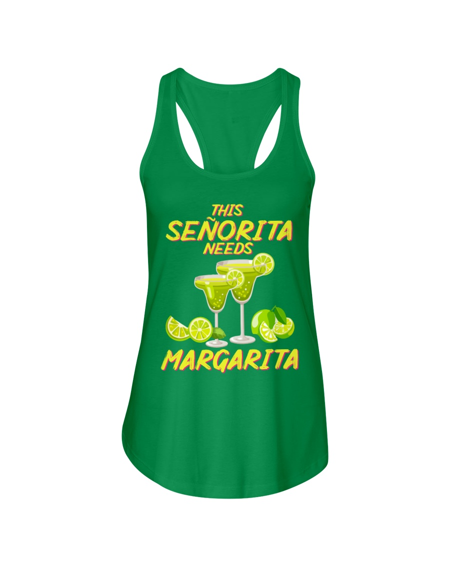 FOR SENORITA WHO LOVES MARGARITA Ladies Flowy Tank