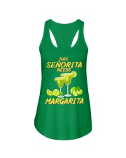 FOR SENORITA WHO LOVES MARGARITA Ladies Flowy Tank front