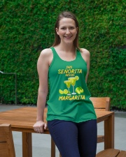 FOR SENORITA WHO LOVES MARGARITA Ladies Flowy Tank lifestyle-bellaflowy-tank-front-1