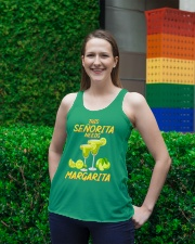 FOR SENORITA WHO LOVES MARGARITA Ladies Flowy Tank lifestyle-bellaflowy-tank-front-2