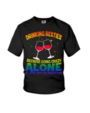 DRINKING BESTIES Youth T-Shirt thumbnail