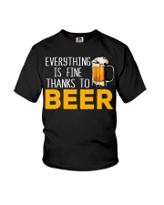 THANKS TO BEER Youth T-Shirt thumbnail