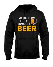 THANKS TO BEER Hooded Sweatshirt thumbnail