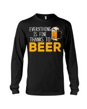 THANKS TO BEER Long Sleeve Tee thumbnail