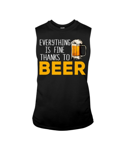 THANKS TO BEER