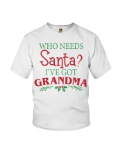 WHO NEEDS- BEST GIFT FOR CHRISTMAS Youth T-Shirt thumbnail