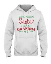WHO NEEDS- BEST GIFT FOR CHRISTMAS Hooded Sweatshirt thumbnail