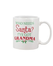WHO NEEDS- BEST GIFT FOR CHRISTMAS Mug front