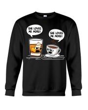 SHE LOVES ME MORE Crewneck Sweatshirt thumbnail