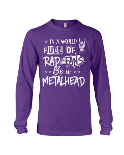 BE A METALHEAD