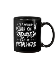 BE A METALHEAD Mug tile