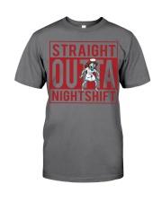 STRAIGHT OUTTA NIGHTSHIFT Premium Fit Mens Tee thumbnail