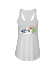 BE CONFIDENT Ladies Flowy Tank front