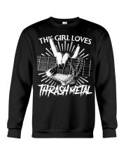THIS GIRL LOVES METAL Crewneck Sweatshirt thumbnail