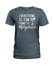 THANKS TO MARGARITA Ladies T-Shirt front