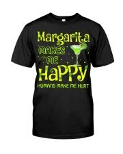 MARGARITA MAKES ME HAPPY Classic T-Shirt thumbnail