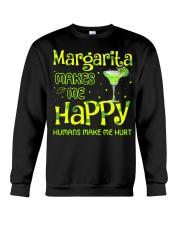MARGARITA MAKES ME HAPPY Crewneck Sweatshirt thumbnail