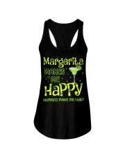 MARGARITA MAKES ME HAPPY Ladies Flowy Tank thumbnail